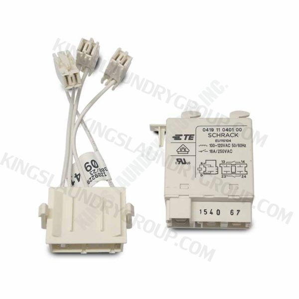 Wascomat 160015 487160015 Blower Relay,120V For TD30X30 Schrack 041911040100