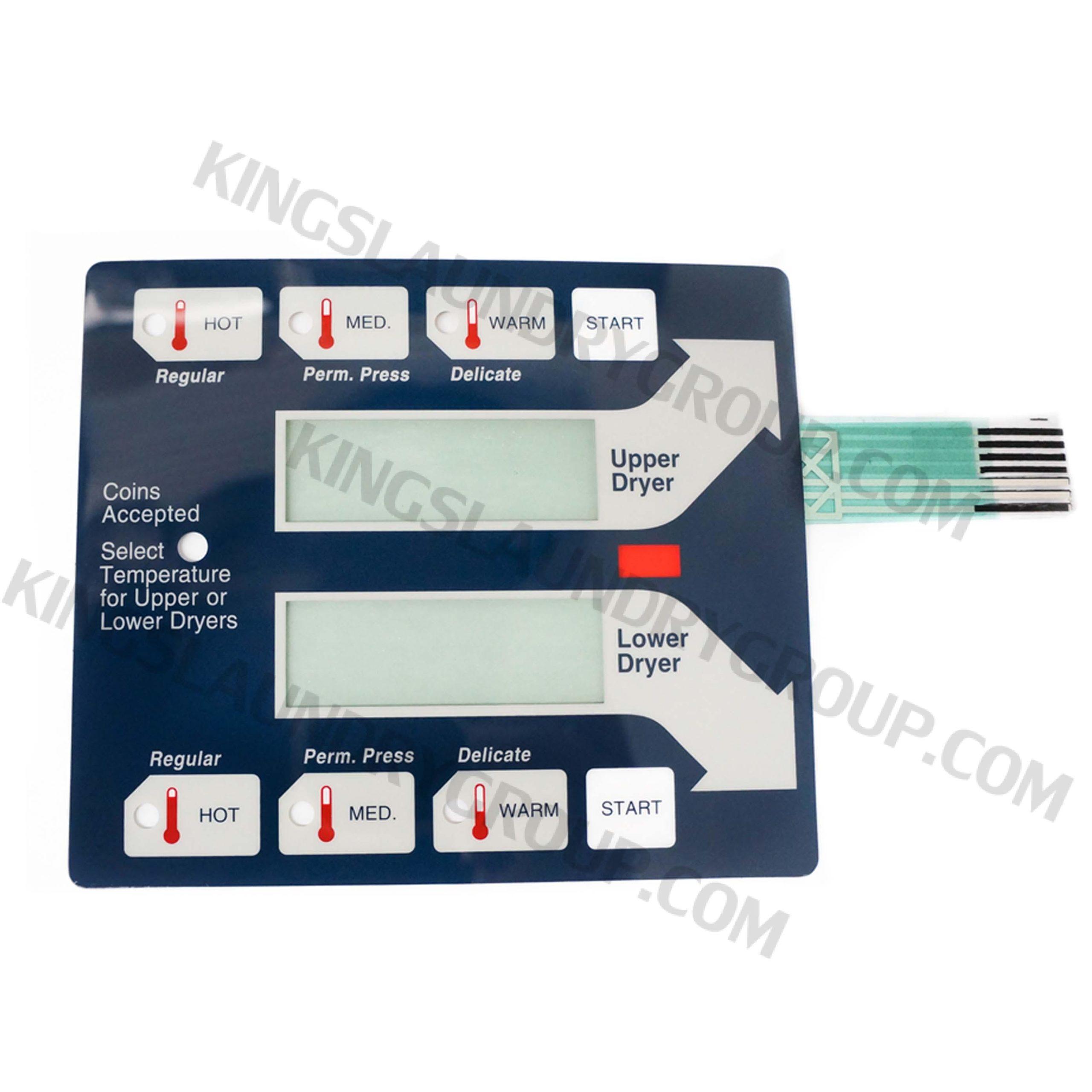 For # 9801-059-004 Dryer Computer Keypad