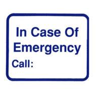 L115 In Case Of Emergency