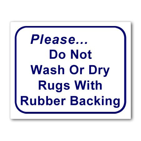 L119 Do Not Dry Rubber
