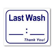 L123 Last Wash??