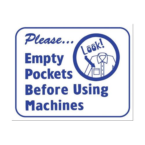 L124 Please Empty Pockets