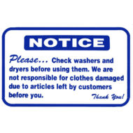 L321 Please Check Washers And Dryers