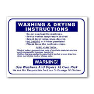 L441 Washing And Drying Instructions