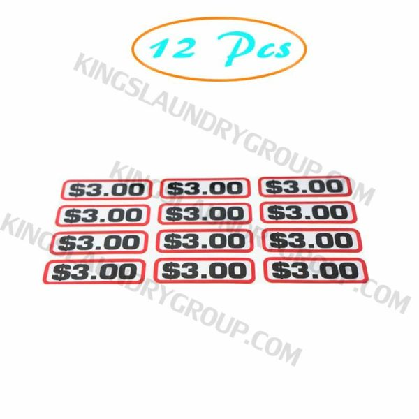 12 pcs Greenwald # 00-9104-37 Slide Decal  $3.00