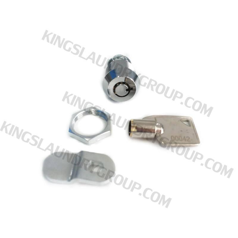 Wascomat # 080317 W74, W124, W184 Top Panel Lock & Key