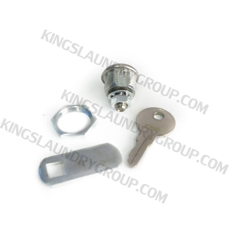 Wascomat # 098758 W125/W185 Top Panel Lock & Key