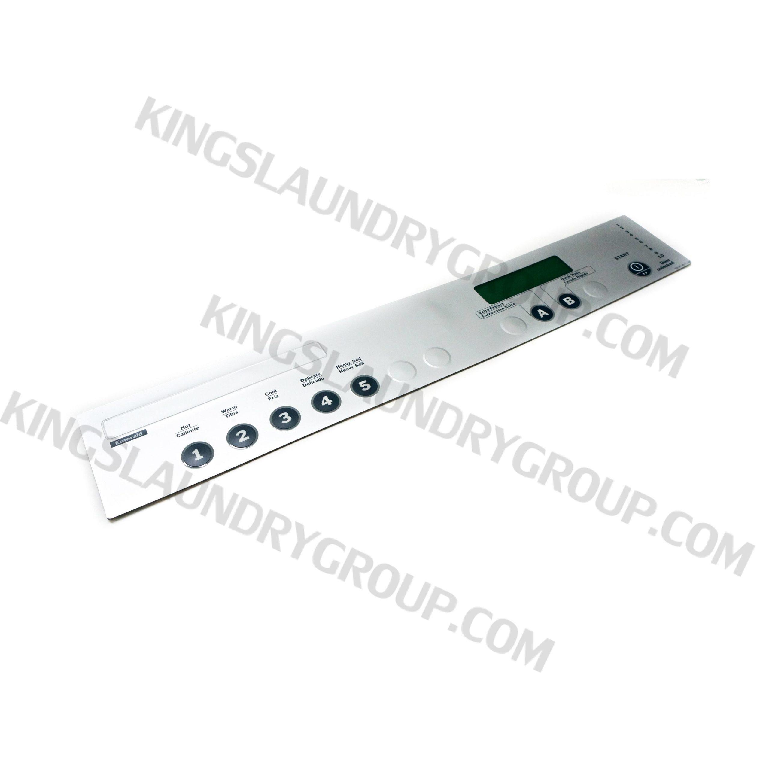 Wascomat # 272011 Keypad, Gen-6 ES (Y5B Timer)