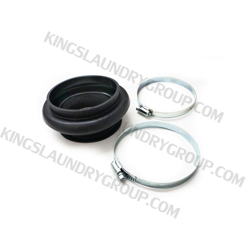 Wascomat # 666419 Hose & Clamp Tub To Drain Valve